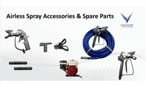 airless paint hose airless spray gun 500 bar vezos hydraulic airless spray