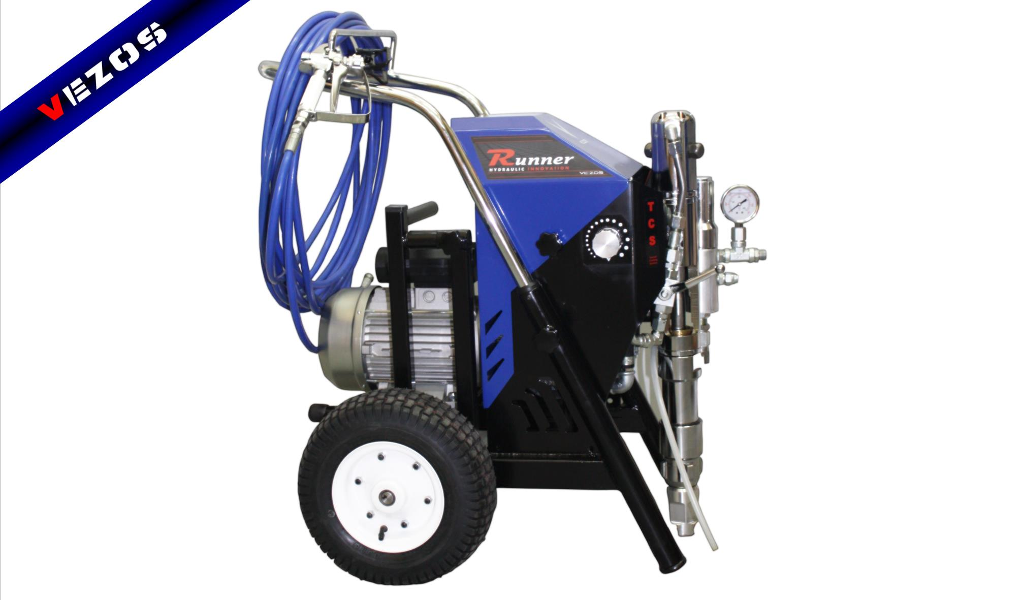 hydraulic-airless-texture-sprayer-runner-pro7electric-vezos