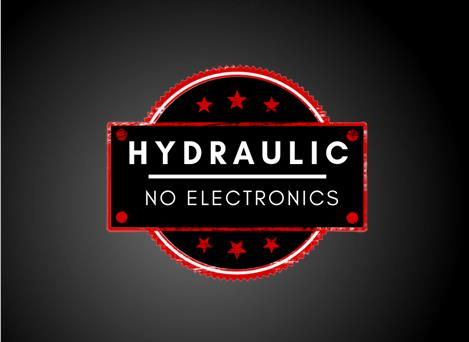 HYDRAULIC-NO-ELECTRONICS