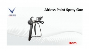 airless spray paint gun vezos