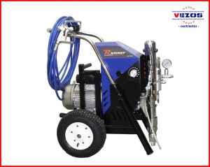 hydraulic airless texture sprayer electric pro 5 -vezos