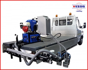 Line striping mounted systems - Truck mounted line stripers VEZOS