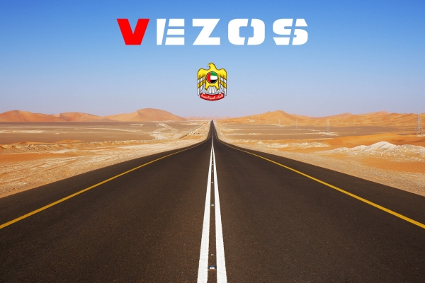 VEZOS road marking machines and paint stripers now in Dubai, Abu Dhabi and all of the UAE