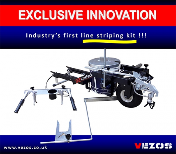 Industry's First Line Striping Kit - R LinePack - Exclusive Design Vezos