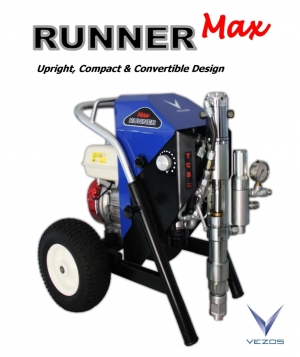 RUNNER Max Airless Hydraulic Texture and Paint Sprayer